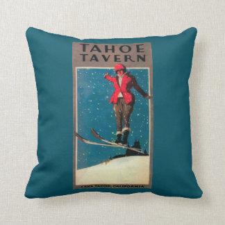 Tahoe Tavern Promo Poster Throw Pillow
