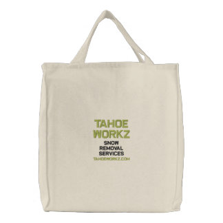 Tahoe Workz Llc Snow Removal Services Tote Bag