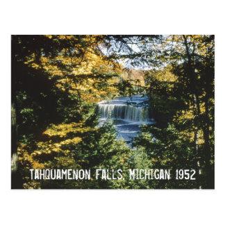 Tahquamenon baja postal de Michigan