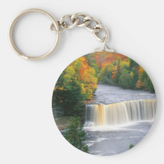 Tahquamenon Falls Keychain