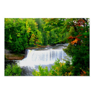 Tahquamenon Falls Michigan Poster