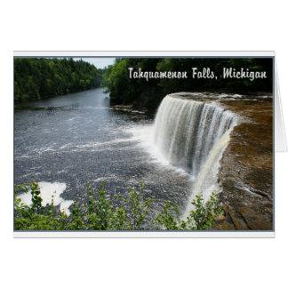 Tahquamenon Falls Paradise Michigan Greeting Cards