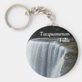 Tahquamenon Falls, Paradise, Michigan Basic Round Button Keychain
