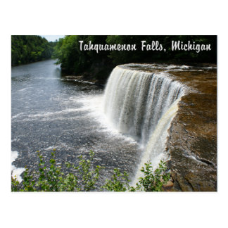 Tahquamenon Falls, Paradise, Michigan Postcard