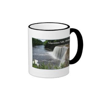 Tahquamenon Falls, Paradise, Michigan Ringer Mug