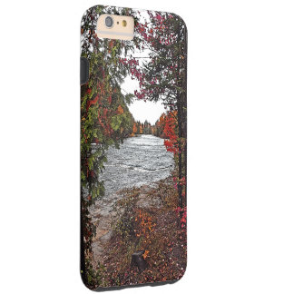 TAHQUAMENON FALLS STATE PARK/RIVER IN FALL COLORS TOUGH iPhone 6 PLUS CASE