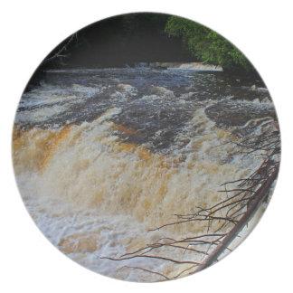Tahquamenon Lower Falls Dinner Plate
