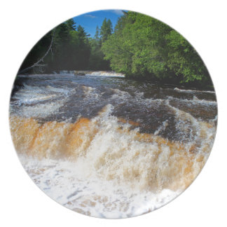 Tahquamenon Lower Falls II Dinner Plate