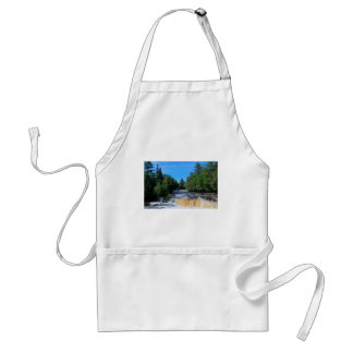 Tahquamenon Lower Falls IV Adult Apron