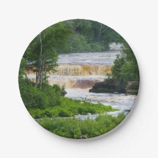 Tahquamenon The Lower Falls Paper Plate