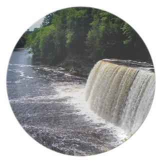 Tahquamenon Upper Falls I Plate
