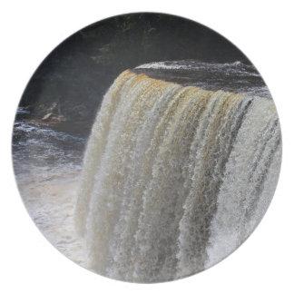 Tahquamenon Upper Falls II Plate