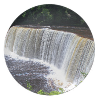Tahquamenon Upper Falls III Dinner Plate