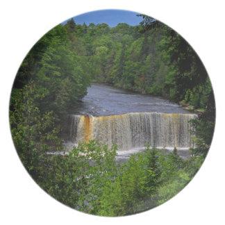 Tahquamenon Upper Falls IV Dinner Plate