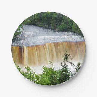 Tahquamenon Upper Falls Paper Plate