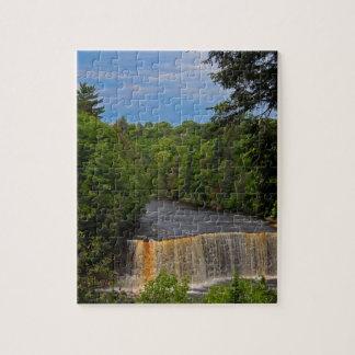Tahquamenon Upper Falls VII Jigsaw Puzzle