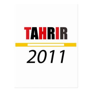Tahrir 2011 postcard