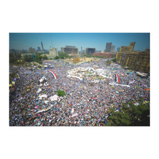 Tahrir Square Egypt July 29 2011 Friday of Unity Canvas Print