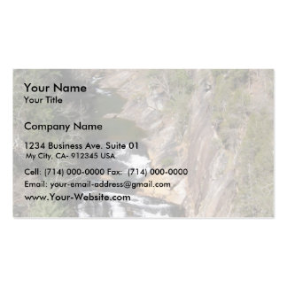 Tahula Gourge Falls At Georgia In Usa Double-Sided Standard Business Cards (Pack Of 100)