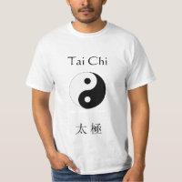 Tai Chi and Yin Yang T-Shirt