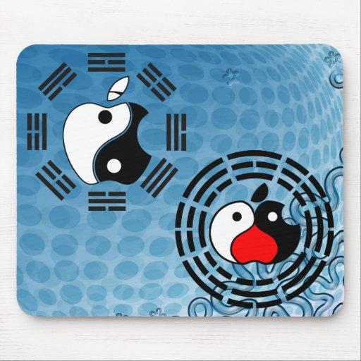 Tai Chi Apple Mousepad