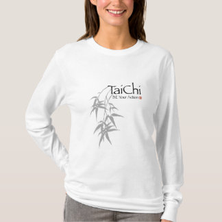 Tai Chi 'Be Your Action' Bamboo graphic Light Tee