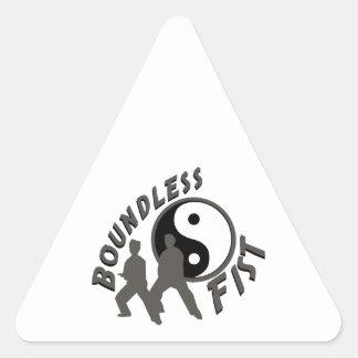 Tai Chi Boundless Fist Triangle Sticker