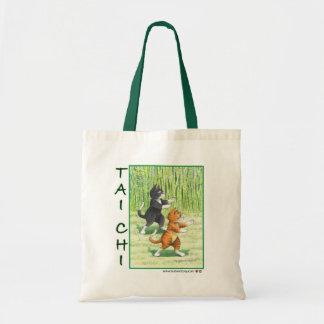 Tai Chi Cats Bud & Tony Bag