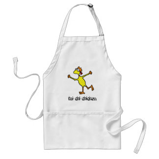 Tai Chi Chicken Apron