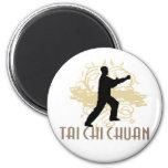 Tai Chi Chuan 2 Inch Round Magnet