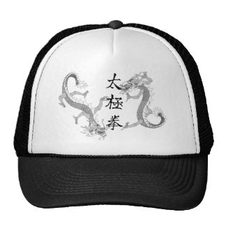Tai Chi Chuan and Two Dragons Trucker Hat