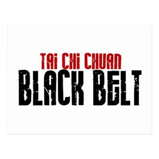Tai Chi Chuan Black Belt Karate Postcard