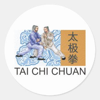 T'ai Chi Chuan Classic Round Sticker