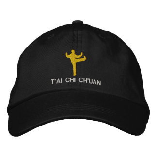 T'ai Chi Ch'uan Embroidered Embroidered Hats