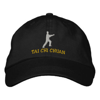 Tai Chi Chuan Embroidered Hat