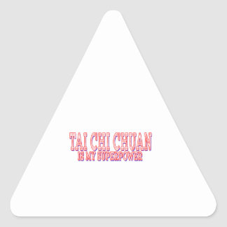 Tai Chi Chuan is my superpower Stickers
