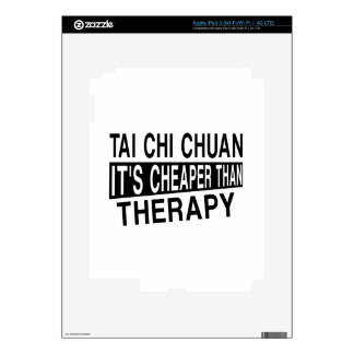 TAI CHI CHUAN IT IS CHEAPER THAN THERAPY iPad 3 DECALS