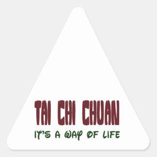 Tai Chi Chuan It's a way of life Triangle Sticker