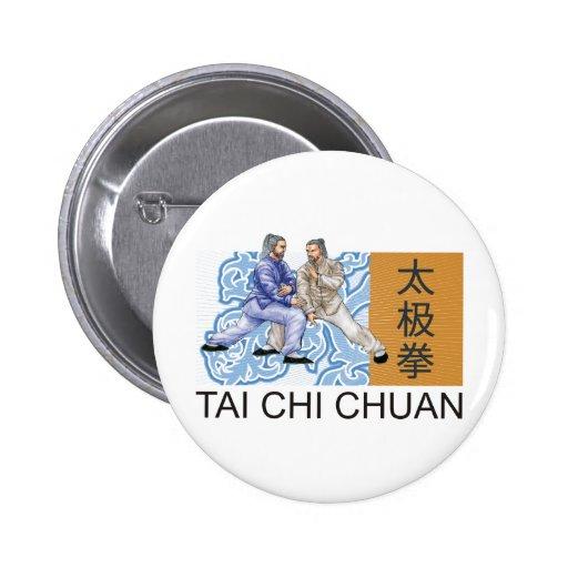 T'ai Chi Chuan Pinback Button