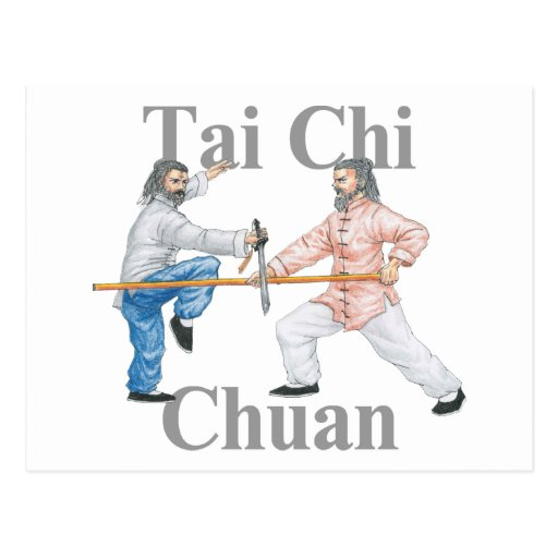 Tai Chi Chuan Post Card