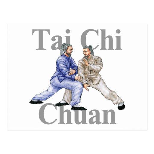 Tai Chi Chuan Postcards