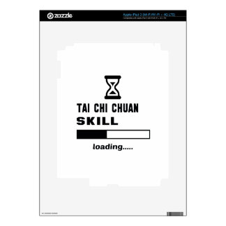 Tai Chi Chuan skill Loading...... Decal For iPad 3