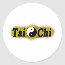 T'ai Chi Classic Round Sticker
