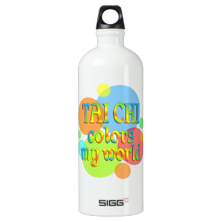 Tai Chi Colors My World Water Bottle