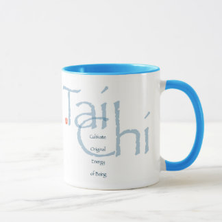 Tai Chi Cultivate Original Energy (Blue) Mug