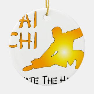 Tai Chi - Cultivate The Harmony Ceramic Ornament