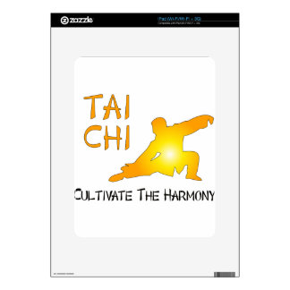 Tai Chi - Cultivate The Harmony Decal For iPad