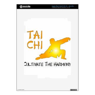 Tai Chi - Cultivate The Harmony iPad 3 Decal