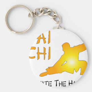 Tai Chi - Cultivate The Harmony Keychain