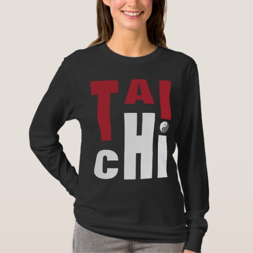 Tai Chi Dark T Shirt